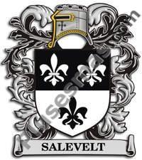 Escudo del apellido Salevelt