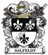 Escudo del apellido Salfeldt