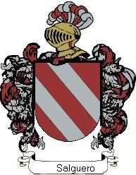Escudo del apellido Salguero