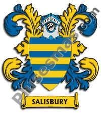 Escudo del apellido Salisbury