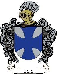 Escudo del apellido Salla