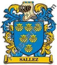 Escudo del apellido Sallez