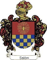 Escudo del apellido Salóm