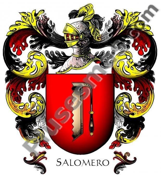 Escudo del apellido Salomero