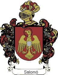 Escudo del apellido Salomó
