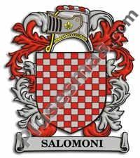 Escudo del apellido Salomoni