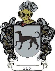 Escudo del apellido Salor