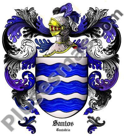 Escudo del apellido Santos
