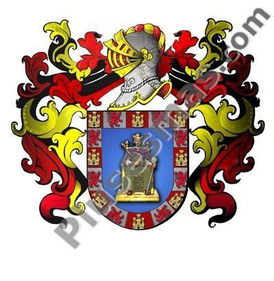 Escudo del apellido Sevilla