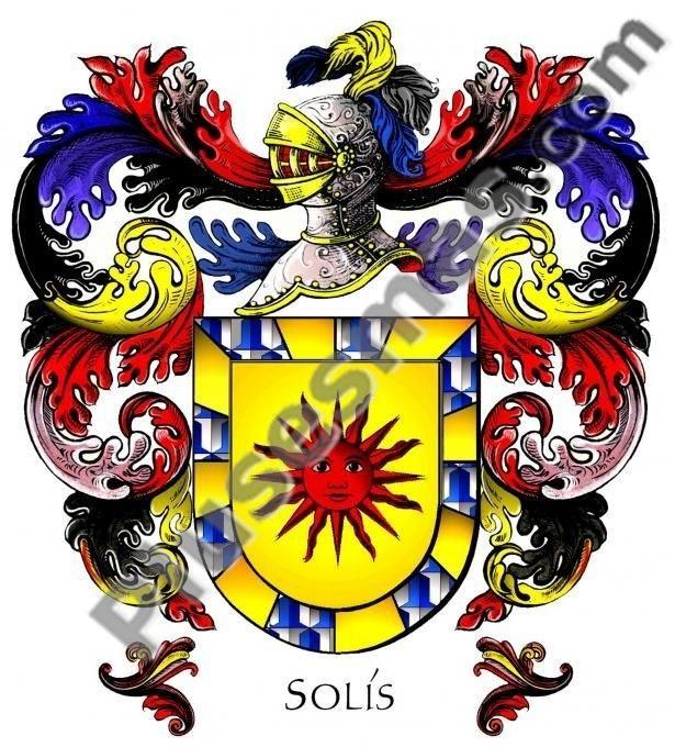 Escudo del apellido Solís