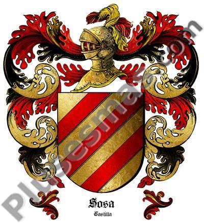 Escudo del apellido Sosa
