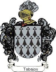 Escudo del apellido Tabajos