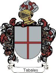 Escudo del apellido Tabales