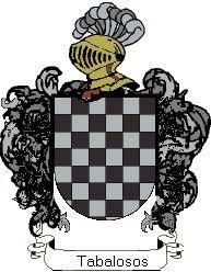 Escudo del apellido Tabalosos