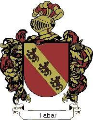 Escudo del apellido Tabar