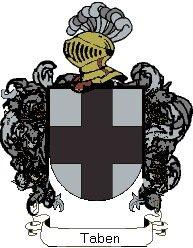 Escudo del apellido Taben
