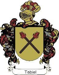 Escudo del apellido Tabiel