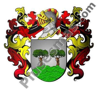 Escudo del apellido Tablado