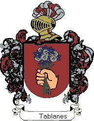 Escudo del apellido Tablanes