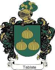 Escudo del apellido Tablate