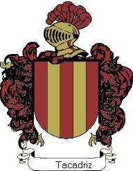 Escudo del apellido Tacadriz
