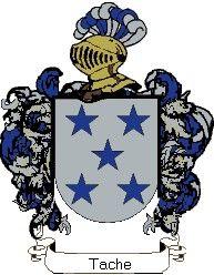 Escudo del apellido Tache
