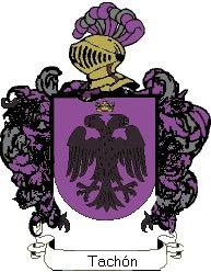 Escudo del apellido Tachón