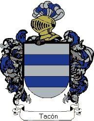 Escudo del apellido Tacón