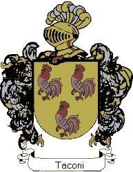 Escudo del apellido Taconi