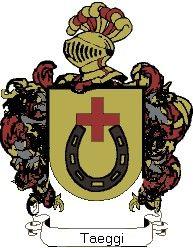 Escudo del apellido Taeggi