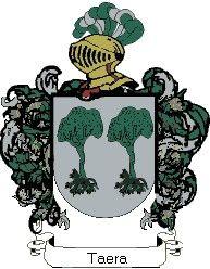 Escudo del apellido Taera