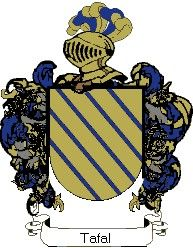 Escudo del apellido Tafal