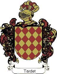 Escudo del apellido Tardet