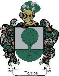 Escudo del apellido Tardos
