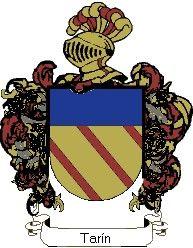 Escudo del apellido Tarín