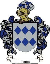 Escudo del apellido Tarno