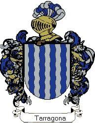 Escudo del apellido Tarragona