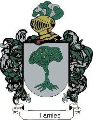 Escudo del apellido Tarriles