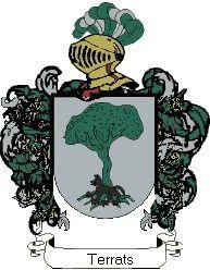 Escudo del apellido Terrats