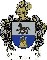 Escudo del apellido Torrano