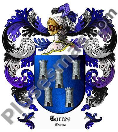Escudo del apellido Torres