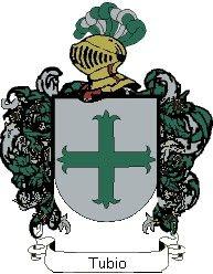 Escudo del apellido Tubio