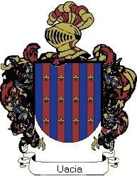 Escudo del apellido Uacia