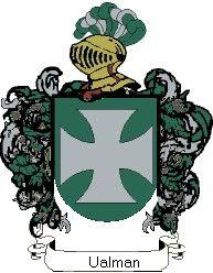 Escudo del apellido Ualman