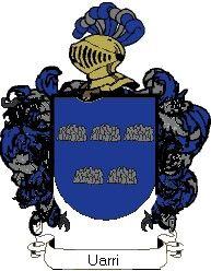 Escudo del apellido Uarri