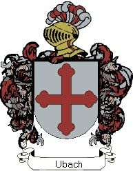 Escudo del apellido Ubach