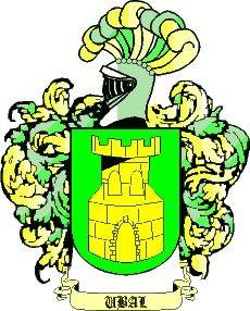 Escudo del apellido Ubal