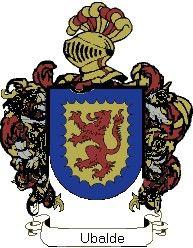 Escudo del apellido Ubalde