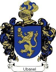 Escudo del apellido Ubanel
