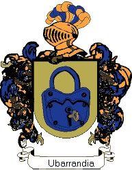 Escudo del apellido Ubarrandia